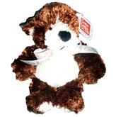 リッツカールトンクマ! 売店で買いました。毎日クマをみながら【志】を確認