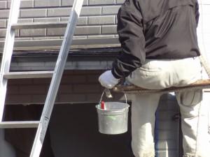 作業する職人さんが安全で塗りやすい環境=品質の高い工事につながります。