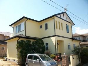 塗り替え時期はお家によってそれぞれ違いがありますので、きちんと業者さんに見ていただくことが一番です。